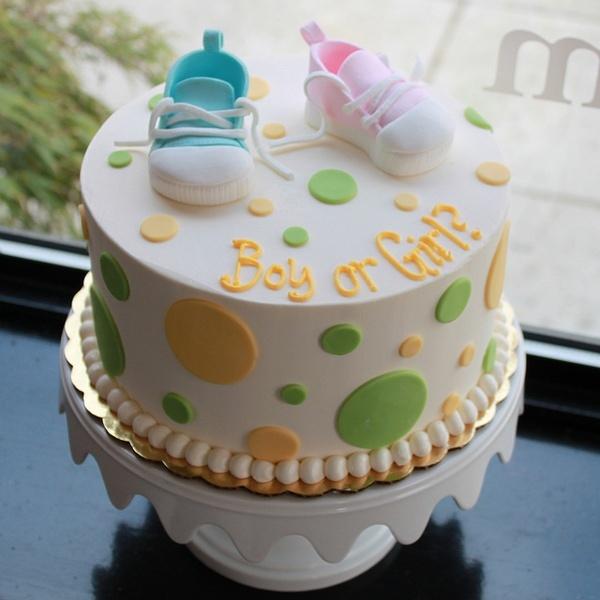 Gender Reveal Cake! LOVE! | Cakes & Decorating! | Pinterest