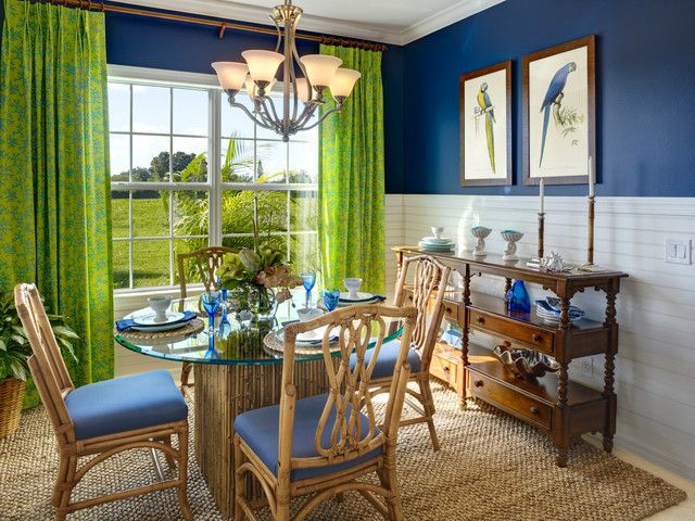 Blue And Green Dining Room Life In Blue And Green