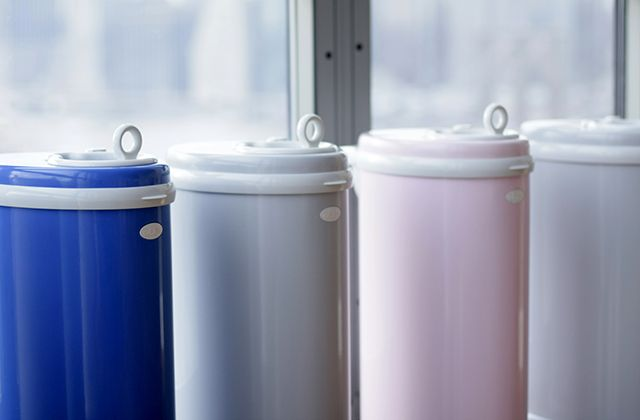 Enter to win a Ubbi Diaper Pail ($80 value) from Project Nursery! #contest #giveaway