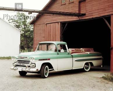 Another Official GM Photo of the '59 Apache Fleetside