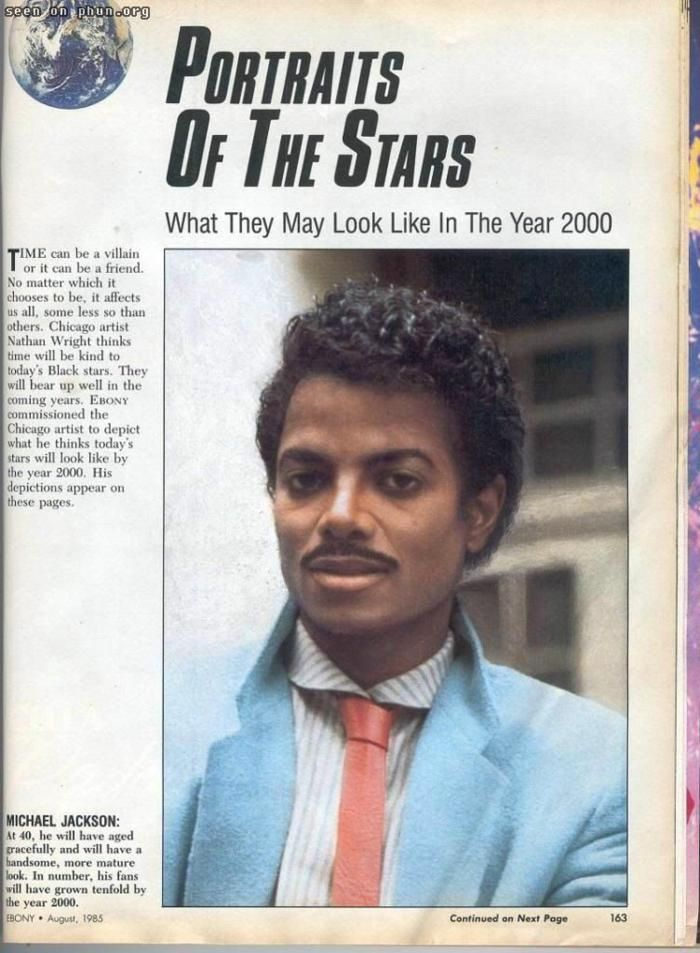 what people in the 80's thought he would look like in 2000...yeah no