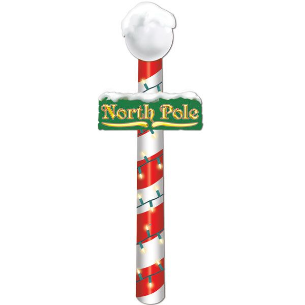 north pole flags