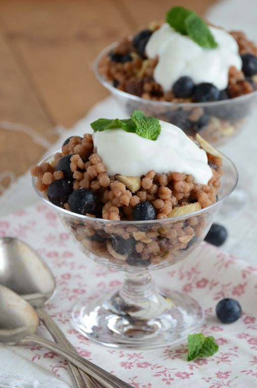 Vanilla-Berry Whole Wheat Couscous Breakfast Pilaf from An Edible ...