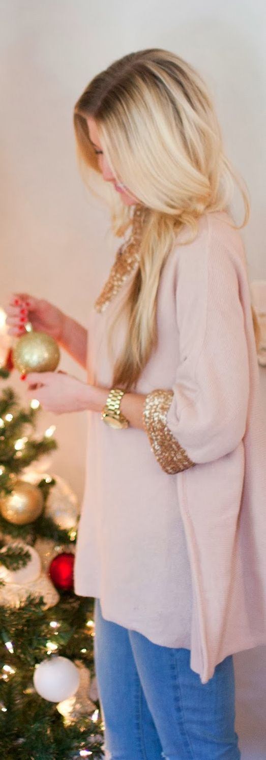 A Golden Holiday by Elle Apparel