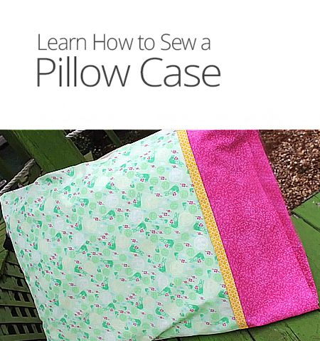 How To Make A Cute Pillow Case : How to Make a Pillow Case sewing Pinterest