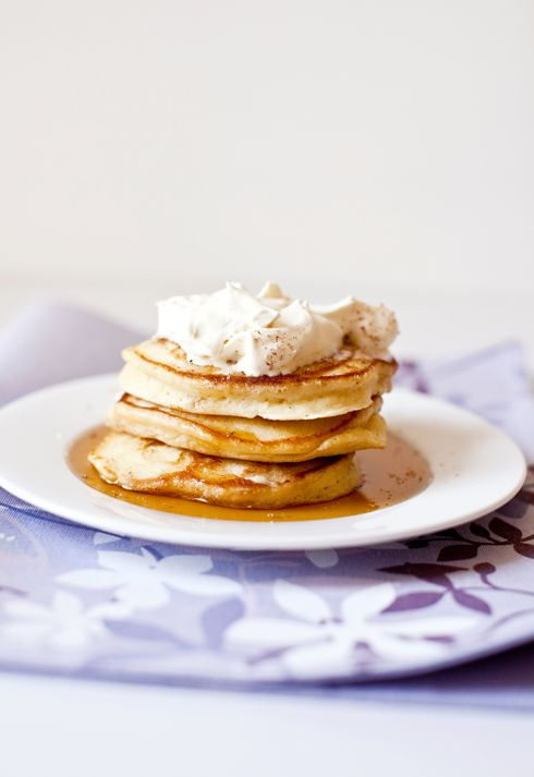Eggnog pancakes | Products I Love | Pinterest