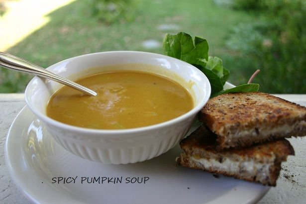 spicy pumpkin soup | Souper Duper | Pinterest