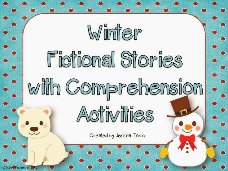 Winter Reading Comprehension | Classroom Ideas | Pinterest