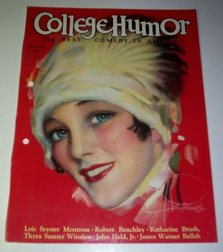ROLF ARMSTRONG  COLLEGE HUMOR COVER