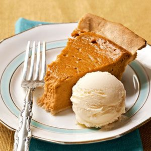 Sweet Potato Pie with Buttermilk Ice Cream from @The Lee Bros. # ...