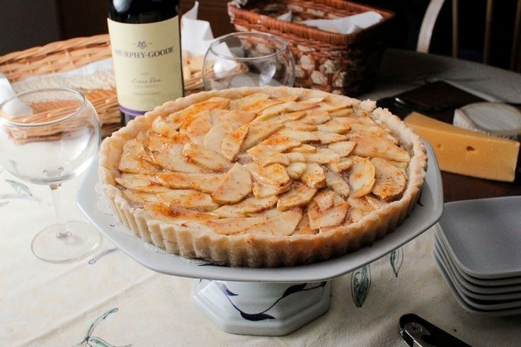 Gojee - Gluten Free Apple Walnut Tart with Fig Glaze by The colors of ...