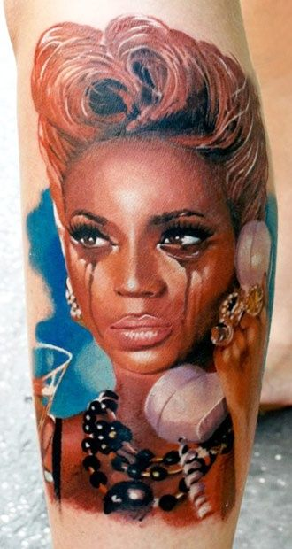 Picture of beyonce tattoo meaning