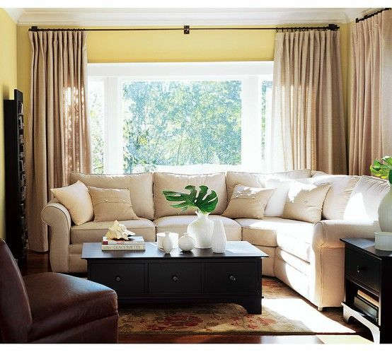 Simple Elegant Living Room Curtain Ideas For The Home Pinterest