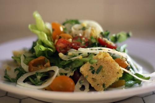 Corn bread salad | Food for thought - or to make | Pinterest