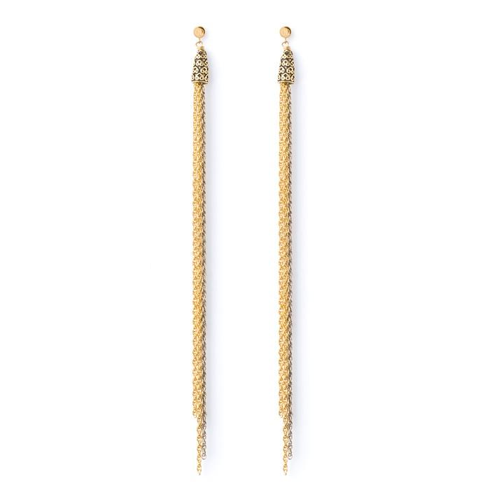 very long earrings bijoux pinterest