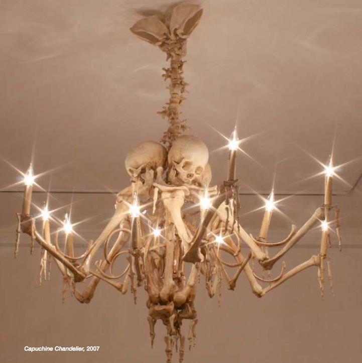 Skull chandelier pinterest my way pinterest Oddities home decor