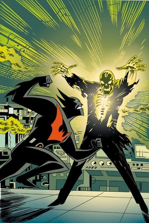 Batman Beyond vs Blight by Bruce Timm | The Geekdom of ...