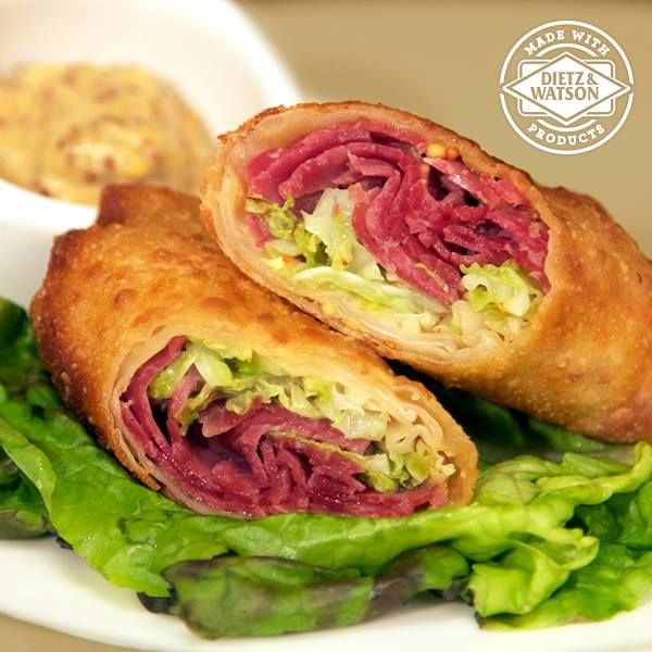 Corned Beef and Cabbage Egg Rolls | Sounds Yummy | Pinterest