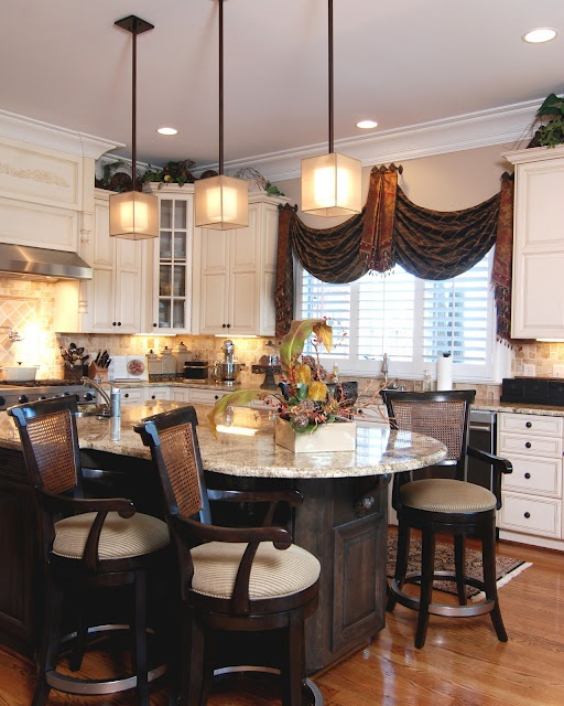 Kitchen window treatment window treatments pinterest - Pinterest kitchen window treatments ...