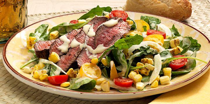 Hanger Steak Salad | Salads | Pinterest