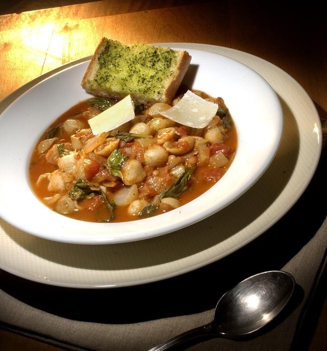 Italian Pasta and Bean Soup With Arugula (Pasta e Fagioli) | Recipe
