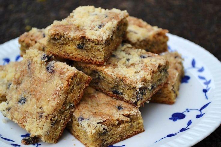 blueberry muffin blondie bars   Fruit Bakery   Pinterest