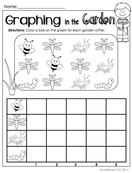 Printable Graphs for Kindergarten - Bing images