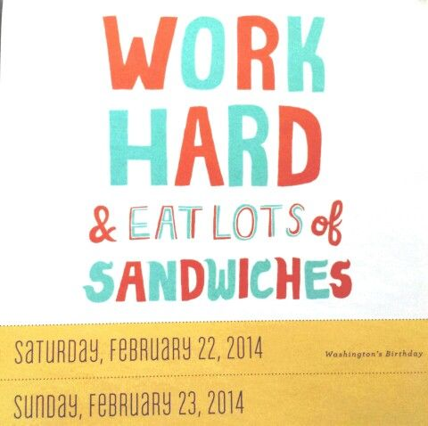... -02232014. I love sandwiches.   Positive Quotes & Notes   Pinte Positive Quotes About Work