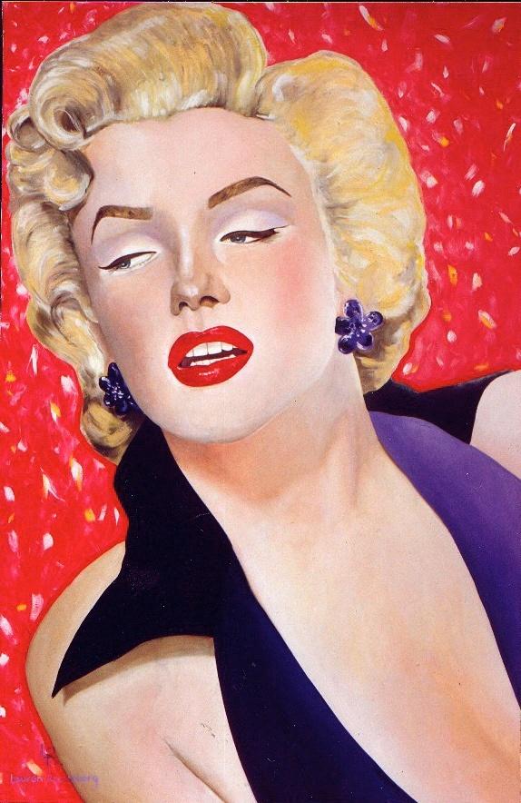 Marilyn 60x40 oil on canvas