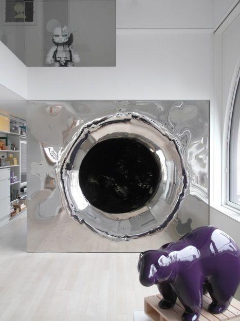 slide inside a house! | Interiors & Furniture | Pinterest: pinterest.com/pin/330381322635397284