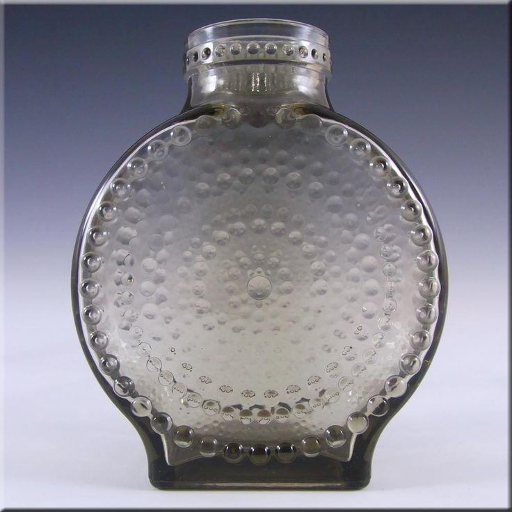 nuutajarvi notsjo iittala glass vase by oiva toikka. Black Bedroom Furniture Sets. Home Design Ideas