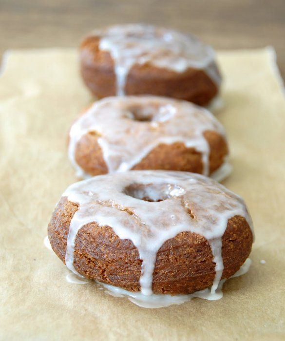 Gluten-Free Donut Peach Cider Doughnuts | Gluten-Free Recipes | Pinte ...