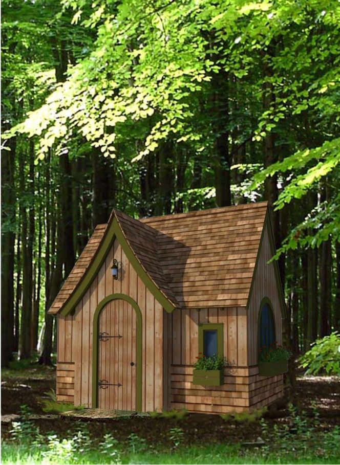 Storybook cottage my tiny house pinterest for Storybook cottage plans