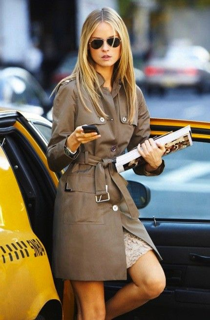 trench coat... on my fall shopping list.