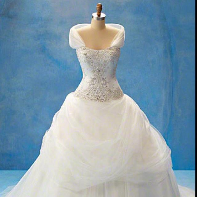 Belle Inspired Wedding Dresses 63