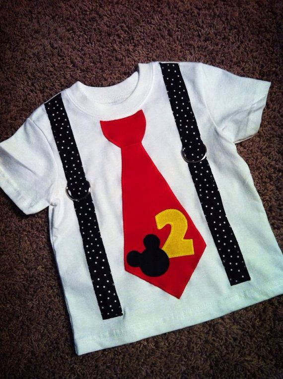 Birthday 2nd Mickey Mouse Shirt On Etsy 18 00 How Do It Info