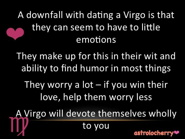 Virgo dating