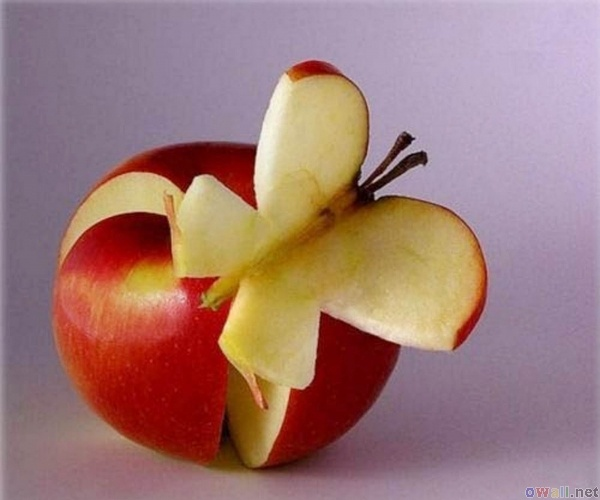apple butterfly | Make and do... | Pinterest