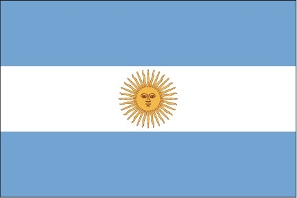 the flag of argentina
