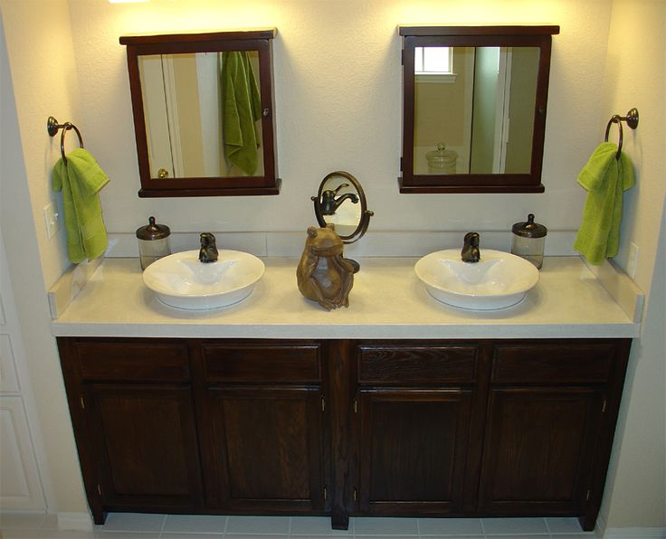 his and her sinks I love awesome bathrooms! Pinterest