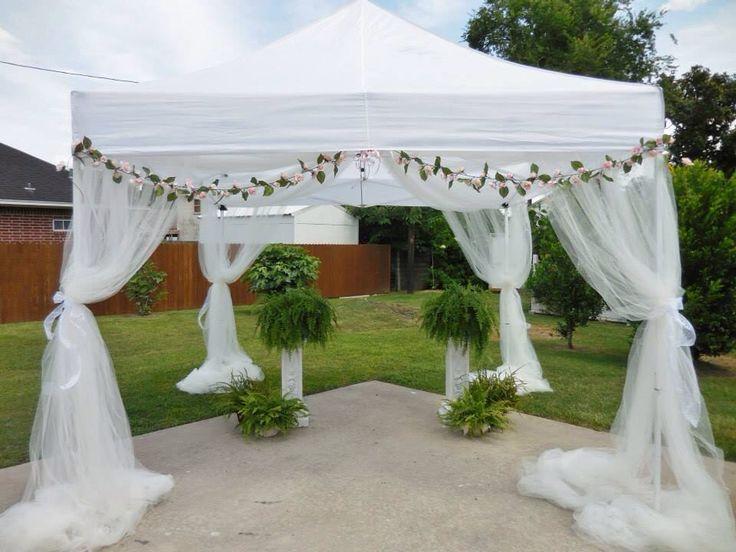 Tent Wedding In Backyard : Backyard garden wedding tent  DDs wedding  Pinterest