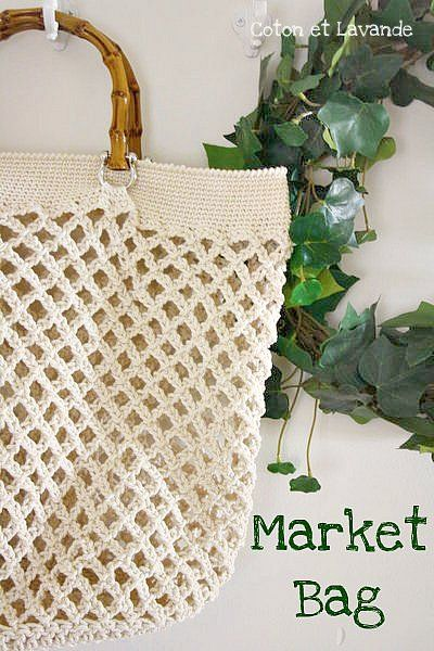 Market Bag Crochet
