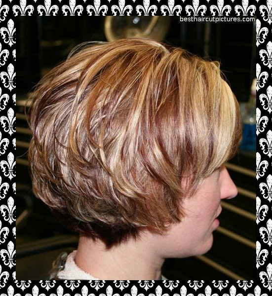 Pin Short Stacked Hairstyle Pictures Picture on Pinterest