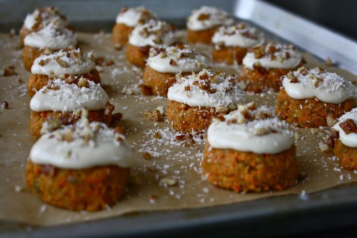 Raw Carrot Cake with Cashew Cream Cheese Frosting- UM YES PLEASE ...