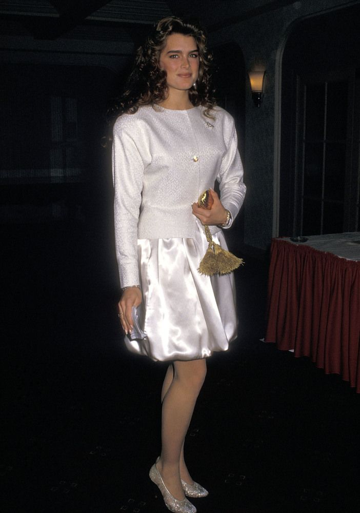 Brooke Shields 1988 | Brooke Shields | Pinterest