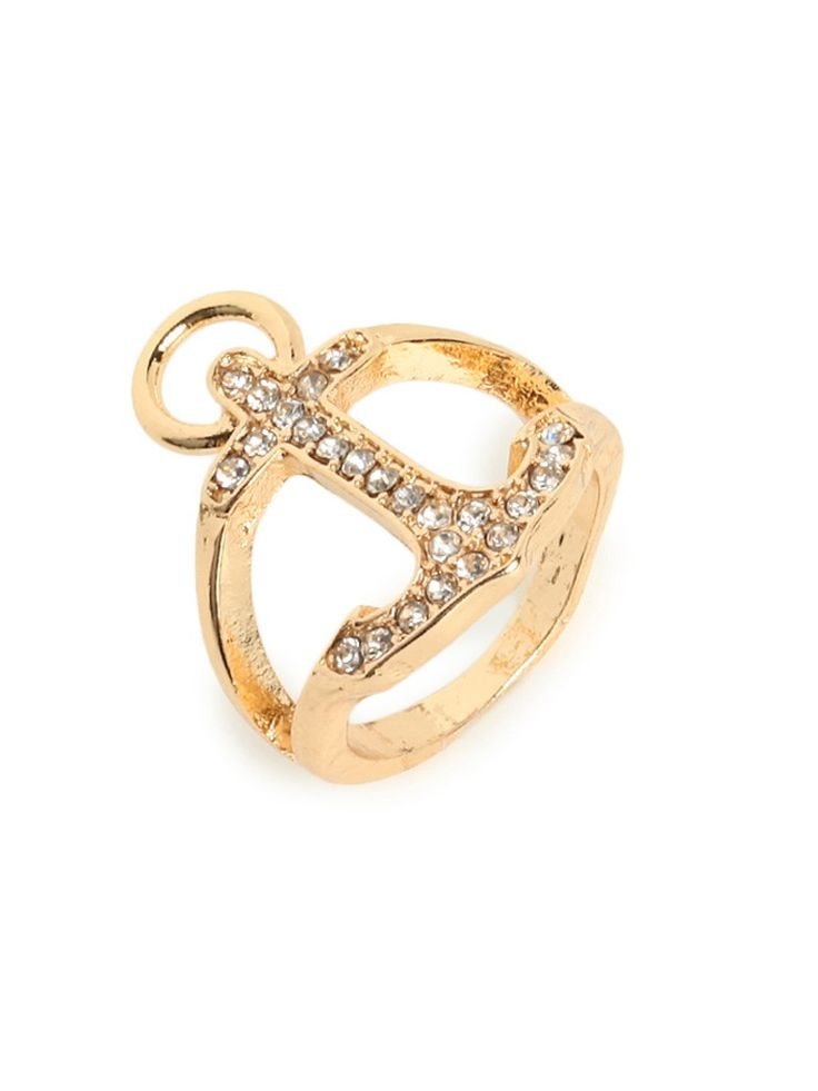 gold anchor ring purty