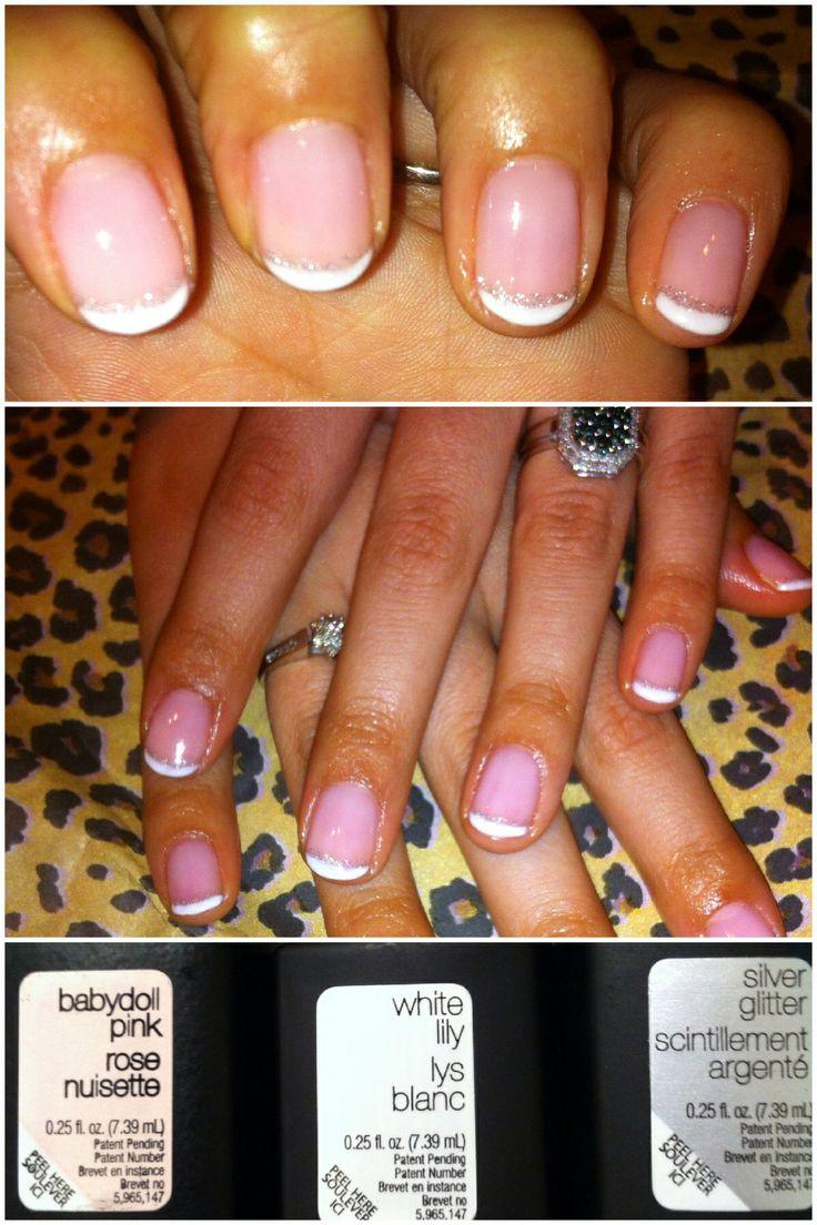 French Manicure using SensatioNail Gel Polishes!