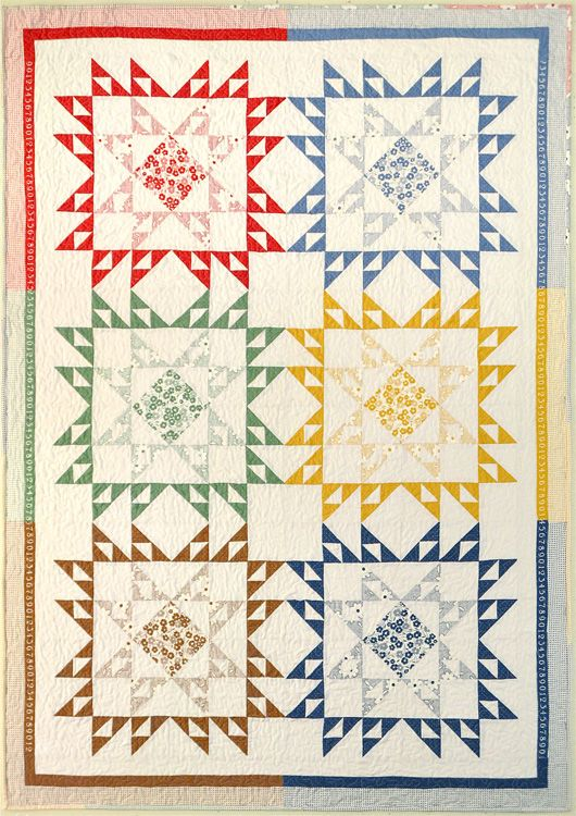 Double Dutch II from Sandy Klop.  I love this block.