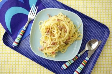 Lightened Up Spaghetti Carbonara | Healthy & Lighter Recipes | Pinter ...