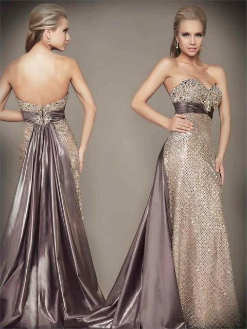 Abendkleider f r etwa einen trendigen look - Moderne abendkleider ...